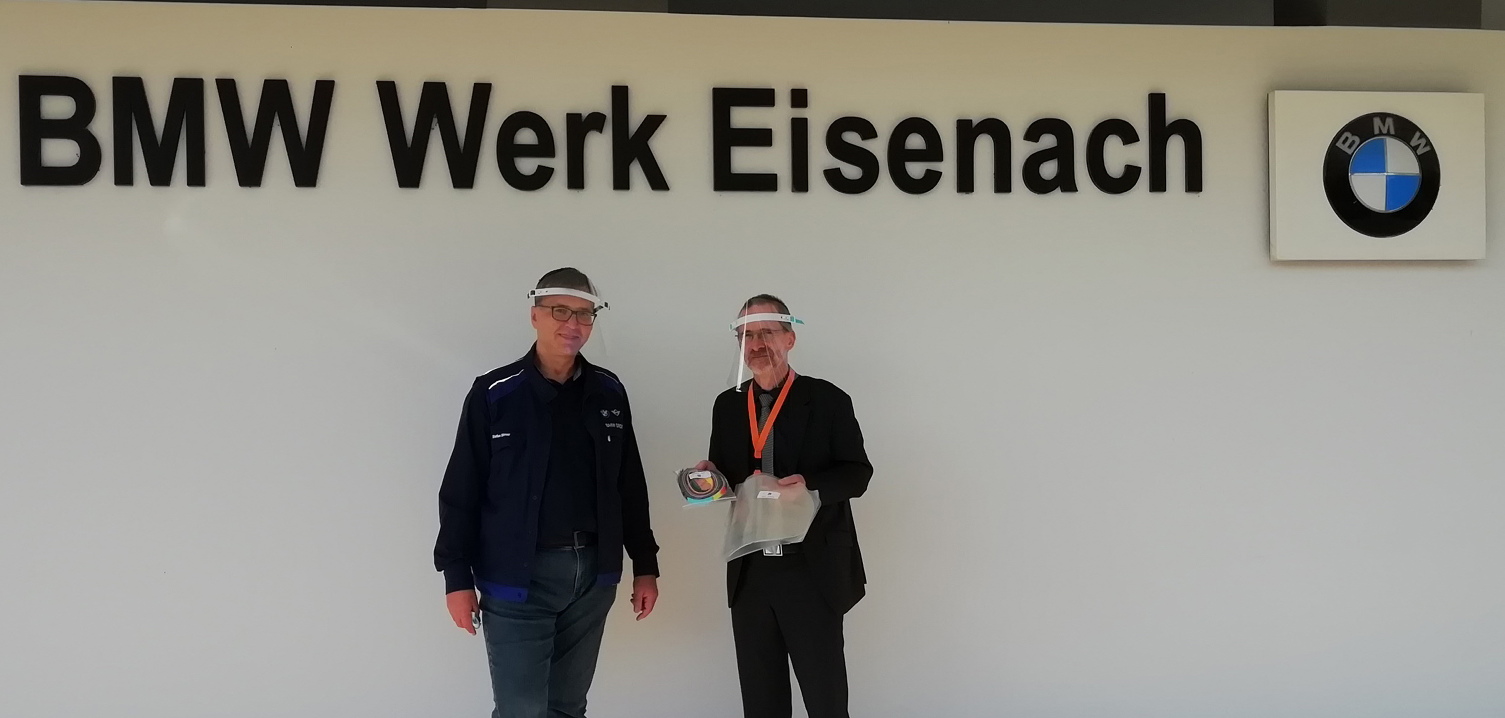 BMW Group Werk Eisenach spendet Face Shields